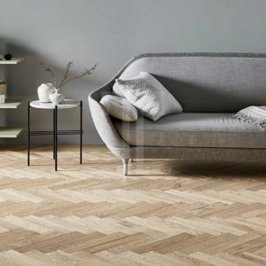 Raw Cotton Herringbone | Ted Todd Engineered Wood Flooring | Best at Flooring