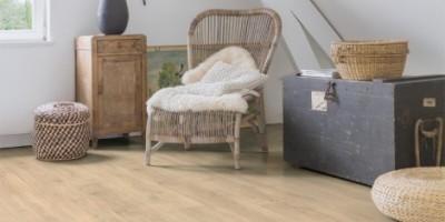 Quick Step Laminate | Majestic | Woodland Oak Beige MJ3545
