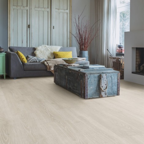 Quick Step Laminate | Majestic | Woodland Oak Light Grey MJ3547