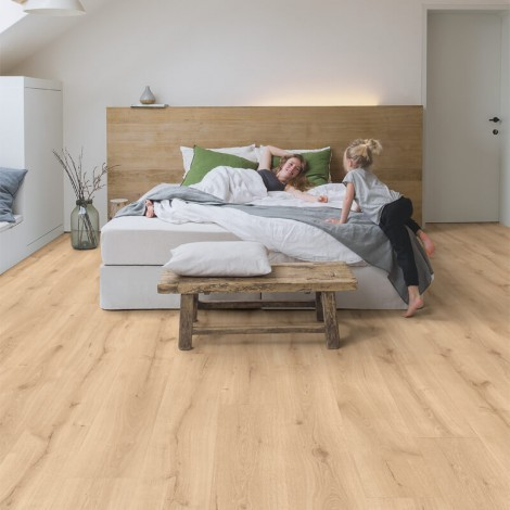 Quick Step Laminate | Majestic | Desert Oak Light Natural MJ3550