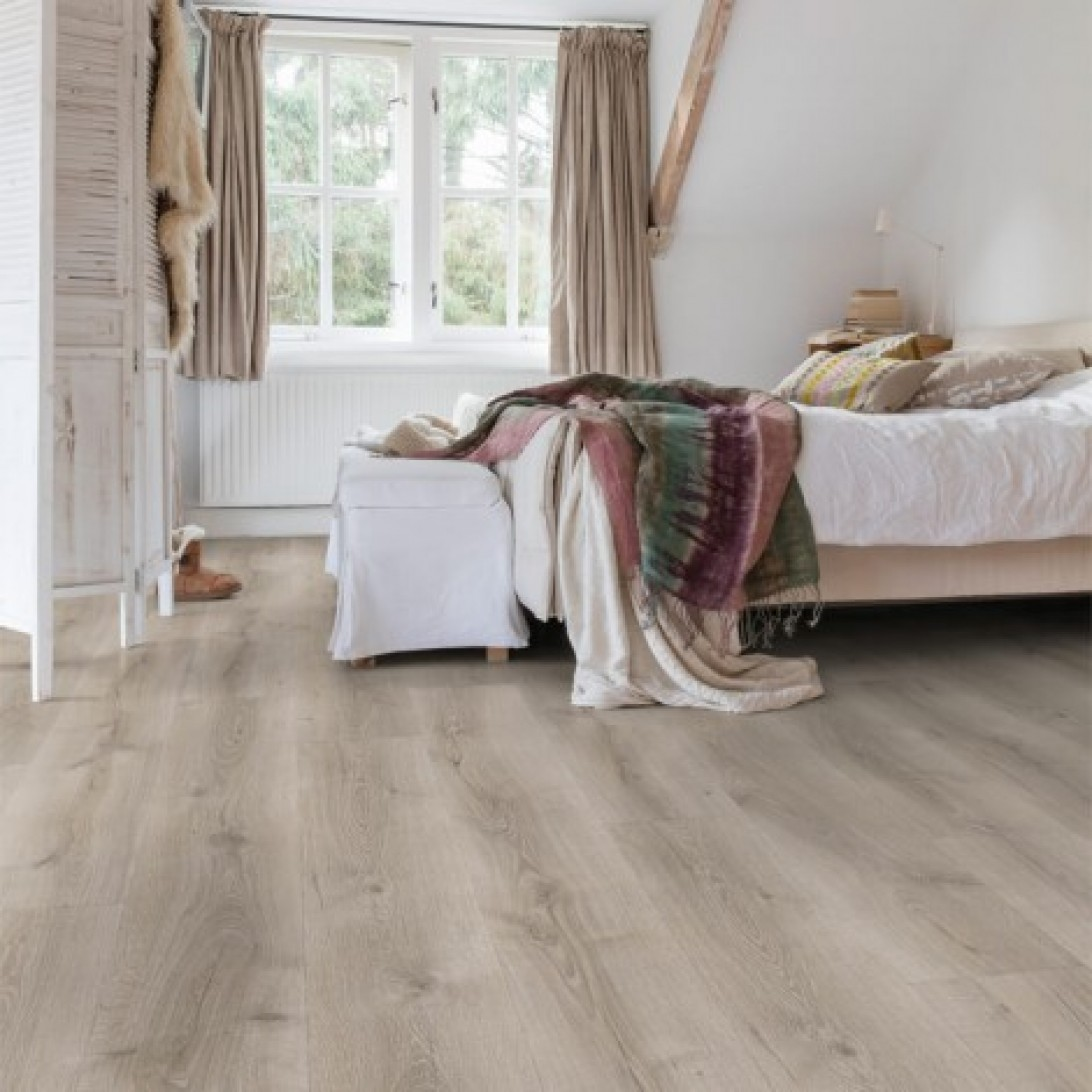 Quick Step Laminate | Majestic | Desert Oak Brushed Grey MJ3552