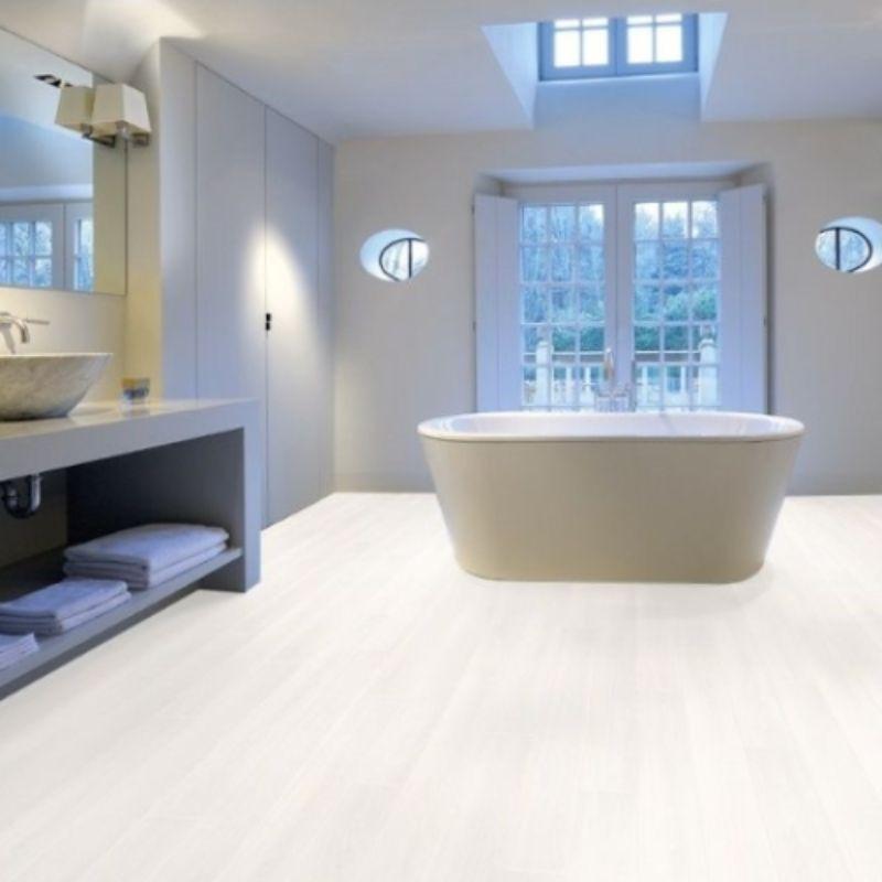 Aquastep Waterproof Laminate Flooring Sutter Oak V Groove