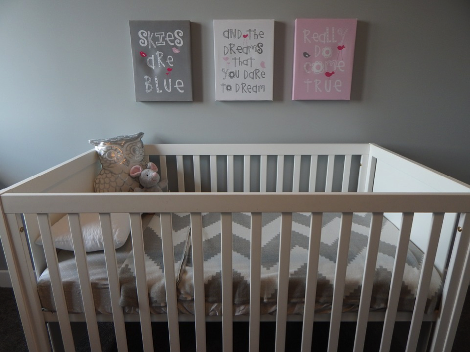 Strategically consider where you will place the crib.