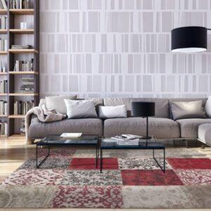 8985 Antwerp Red   Louis de Poortere Vinatge Collection Rugs   Best at Flooring