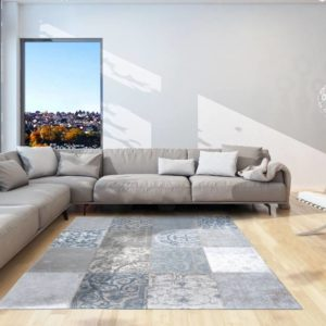 8981 Bruges Blue   Louis de Poortere VIntage Collection Rugs   Best at Flooring