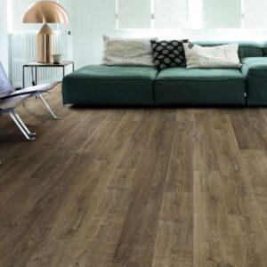Quick Step Laminate | Eligna | Riva Oak Brown EL3579
