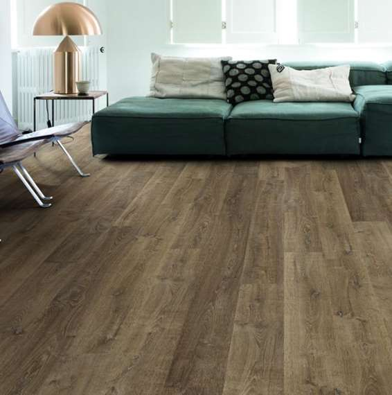 Quick Step Laminate | Eligna | Riva Oak Brown EL3579