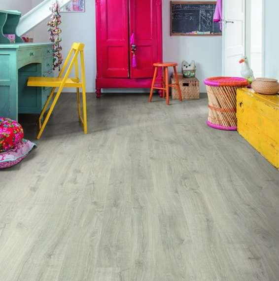 Quick Step Laminate | Eligna | Newcastle Oak Grey EL3580