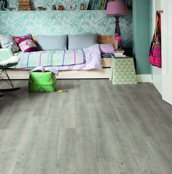 Quick Step Laminate | Eligna | Venice Oak Grey EL3906