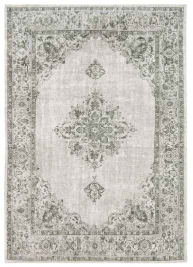 Green Border 8679 rug by Louis de Poortere from the Khayma Fairfield Collection