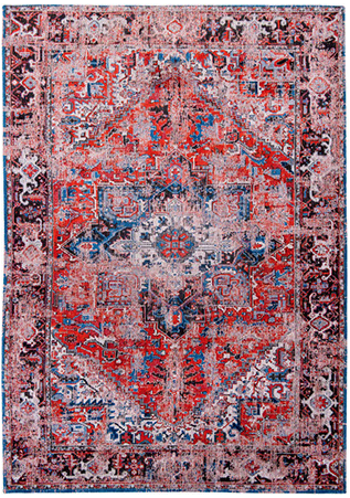 Classic Brick 8703 rug by Louis de Poortere from the Antiquarian Heriz Collection