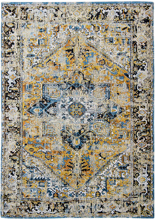 Amir Gold 8704 rug by Louis de Poortere from the Antiquarian Heriz Collection