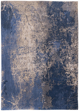 Abyss Blue 8629 rug by Louis de Poortere from the Mad Men Cracks Collection.