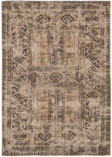 Agha Old Gold 8720 rug by Louis de Poortere