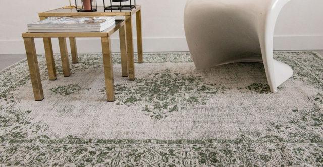Green Border 8679 | Louis de Poortere Khayma Fairfield Rugs | Best at Flooring