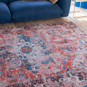 Classic Brick 8703 | Louis de Poortere Antiquarian Heriz Rugs | Best at Flooring