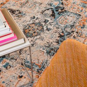 Seray Orange 8705 | Louis de Poortere Antiquarian Heriz Rugs | Best at Flooring