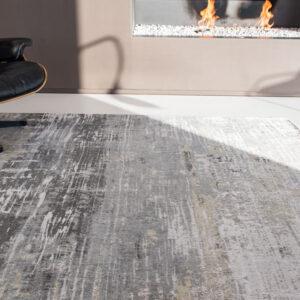 Coney Grey 8716 | Louis de Poortere Atlantic Streaks Rugs | Best at Flooring