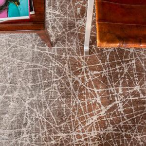 Pecan Frost 8878 | Louis de Poortere Mad Men Fahrenheit Rugs | Best at Flooring