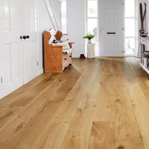 20mm Brushed & Matt Lacquered Oak - Engineered | Best at Flooring