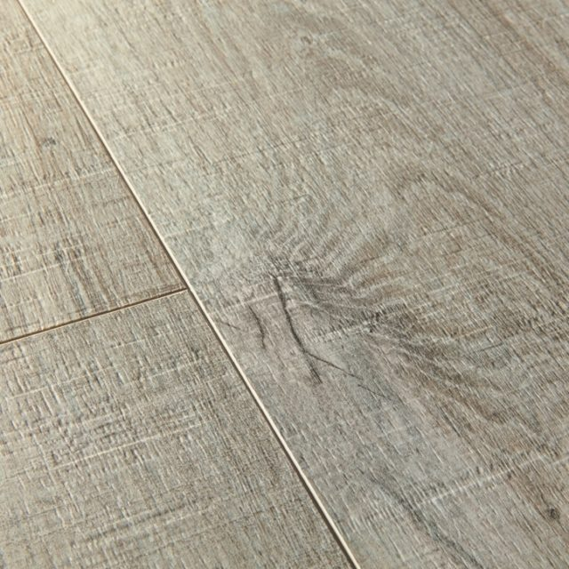 Cotton oak grey with saw cuts | close up